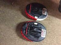 Pro Power boxing kick training mitts