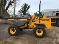 Dumper 6 ton Barford 2007 low hours TIDY
