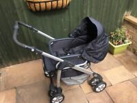 Silver Cross Freeway Pram & Lining/Bag Bundle - Very good condition from a smoke/pet-free home