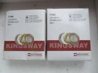 6 Number New Kingsway Low Voltage Chrome Downlighters