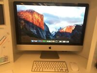 Apple iMac 27-inch late 2009 - Very Good condition. Disks, manual, wireless keyboard & mouse incl