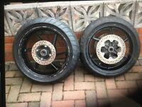 Honda CBR 600fm wheels.
