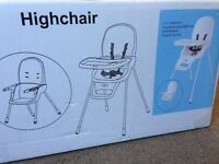 Brand new Baby High chair never used comes with original packing