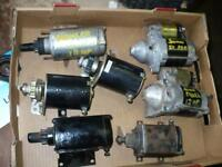 Starter motors for garden tractors riding lawnmower mower