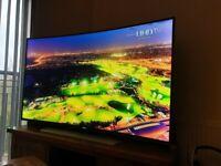 "Samsung 55"" UHD Curved 4K 3D Smart TV UE55HU8500"