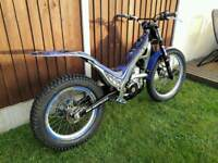 Sherco 250 2 stroke trials bike excellent condition
