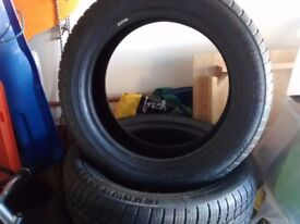 2 Winter Tyres 195/55R16, used only 3 months on Corsa