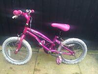 Girls bike 16 inch (i think)