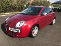 2012 Alfa Romeo MITO, 34,865 mileage, Parking Sensor, MOT, Service History