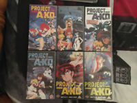 All 6 Project A-Ko Film Anime Collection for sale on VHS