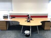 Senator 2 desk workstation - quality and in vgc