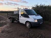 Ford transit tipper 2012 6 speed