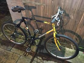 Peugeot Lynx Mountain Bike. Lovely condition. Free D-Lock, Lights, Delivery