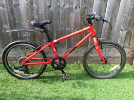 Frog 55 bike boy/girl red (approx age 6-8)