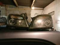 Vectra c sri headlights