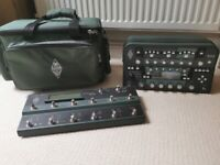 Kemper head with Remote and carry bag