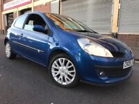 Renault Clio 2009 1.2 T 16v Dynamique 3 door 2 OWNERS, 3 MONTHS WARRANTY, BARGAIN
