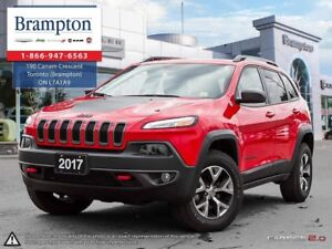 2017 Jeep Cherokee TRAILHAWK | EX COMPANY DEMO | 8.4 IN TOUCHSCR