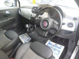 Fiat 500,1248 cc 3 dr hatchback,FSH,full MOT,half leather interior,panoramic roof,only 58,000 miles