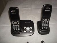 Panasonic 2 Phone set with answer machine