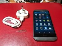 HTC ONE M8 gunmetal grey unlocked! excellent condition