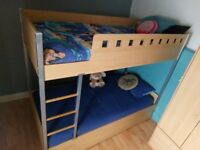 Bunk Beds with a third pull out guest bed - Triple sleeper!