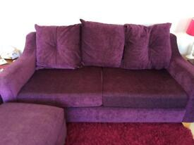 "Two DFS sofas 67"" wide"
