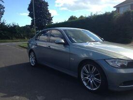 BMW 320i Light Blue