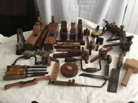 Selection of old tools