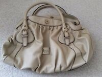 Cream Harrods bag