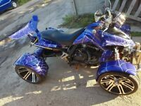 2013 Spy Racing Quad Bike 350 Blue