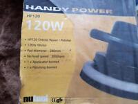 Handy power polisher £20