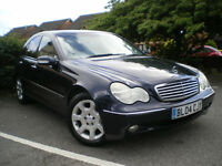 MERCEDES -Benz C-CLASS C200 CDI Elegance 4dr DIESEL* FULL SERVICE HISTORY * 3 month warranty