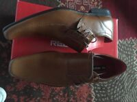 Gents stylish Tan leather shoes size 9