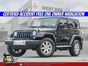 2015 Jeep Wrangler Sahara-Accident Free-One Owner-3.6L V6
