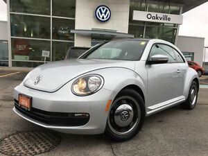 2016 Volkswagen Beetle Coupe CLASSIC/SUNROOF/1 OWNER!