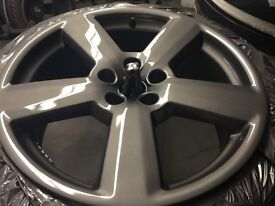 RS6 style alloys Lovely! fit Audi, Vw, seat, skoda etc with very good tyres and fully refurbished