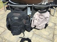 Motorbike clothing various items
