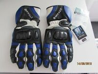 NEW WITH TAGS BUFFALO [MODEL GP3] LEATHER MOTORCYCLE GLOVES SIZE XS
