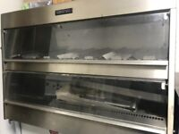 HUMIDIFIED FRIED CHICKEN DISPLAY/HOLDING UNIT