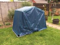 MOBILITY SCOOTER CANOPY GARAGE STORAGE UNIT - 100% WATERPROOF + ALARMED - EX DEMO UNIT