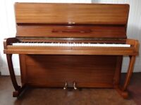 Schubert upright piano, fully reconditioned and repolished, with 3-year guarantee