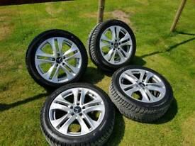 "Genuine Mercedes 17"" Winter alloys"
