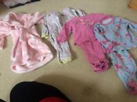 12-18 months girls night clothes