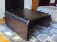 1960 style Coffee table Maghony
