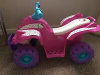 Hello Kitty Quad Bike