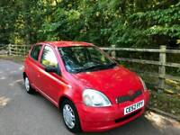 TOYOTA YARIS 1.0L 5DOOR 2 OWNERS MOT TILL11/9/2019 17 SERVICES HPI CLEAR EXCELLENT CONDITION