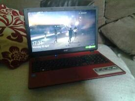 acer laptop aspire ES 15 red