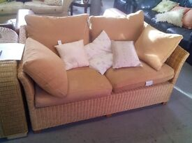 2 seat wicker sofa REF:GT435