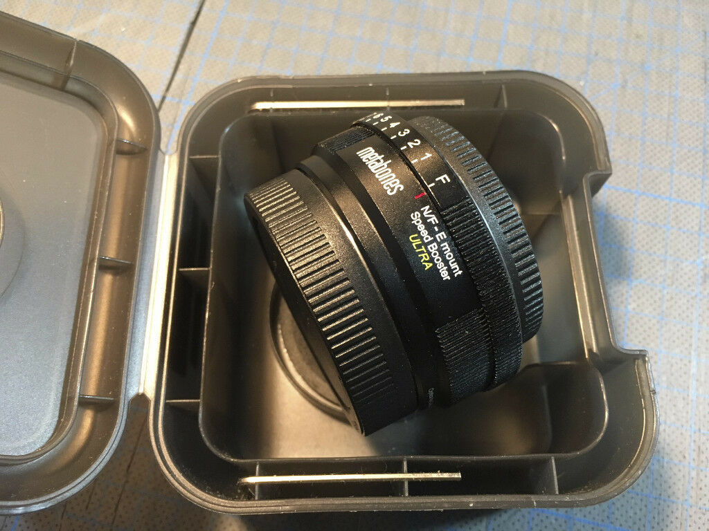 Metabones Nikon to E-mount Speed Booster Ultra lens adapter